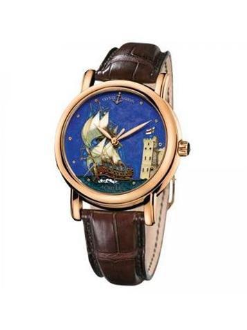 雅典珍贵独特机械腕表系列136-11/ACH