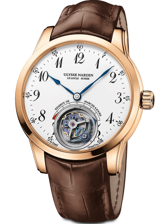 雅典珍贵独特机械腕表系列1786-133腕表