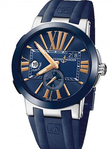 雅典复杂功能机械腕表系列243-00-3/43-BQ经理人双时区