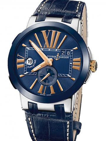 雅典复杂功能机械腕表系列243-00/43-BQ经理人双时区