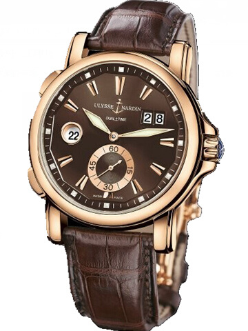 雅典复杂功能机械腕表系列246-55/95双时区
