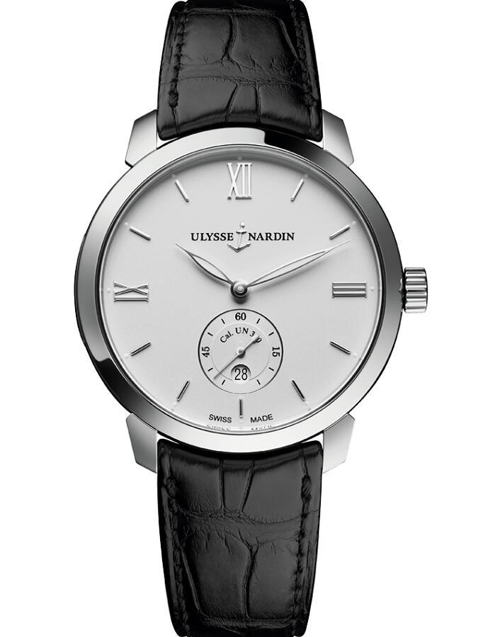 雅典鎏金经典系列3203-136-2/30自动机械男士腕表