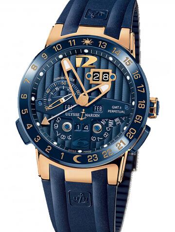雅典复杂功能机械腕表系列326-00-3/BQ万年历Black Toro