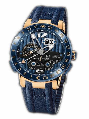 雅典复杂功能机械腕表系列326-01LE-3