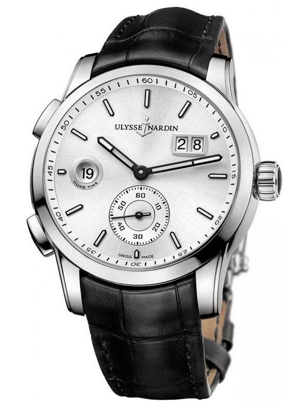 雅典复杂功能机械腕表系列3343-126/91大日历GMT男表