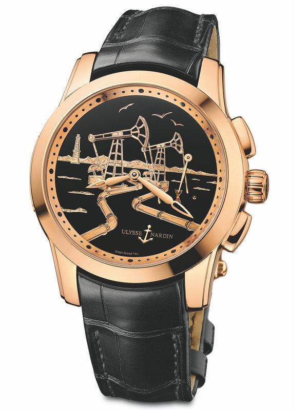 雅典珍贵独特机械腕表系列6106-131/E2-OIL
