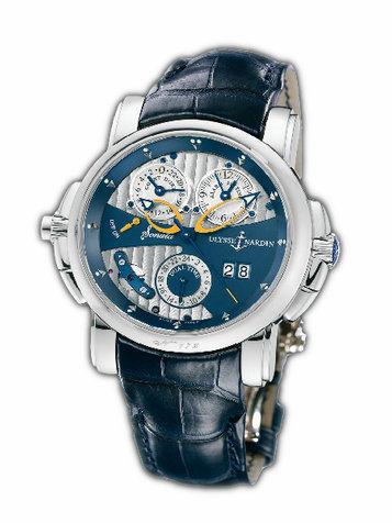 雅典复杂功能机械腕表系列670-88/213