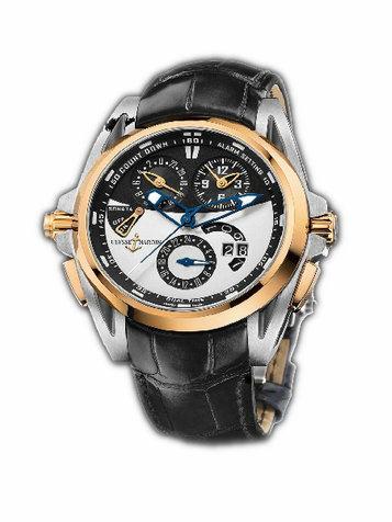 雅典复杂功能机械腕表系列675-01-4