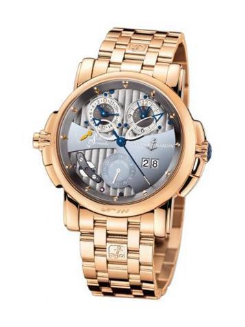 雅典复杂功能机械腕表系列676-85-8