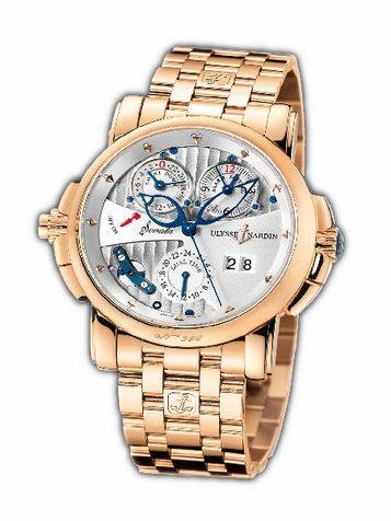 雅典复杂功能机械腕表系列676-88-8v2