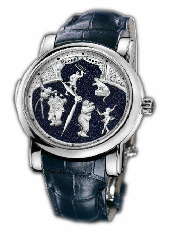 雅典珍贵独特机械腕表系列740-88