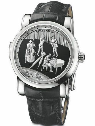雅典珍贵独特机械腕表系列749-88