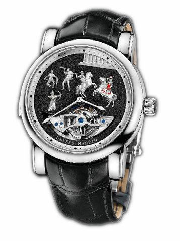 雅典珍贵独特机械腕表系列780-90