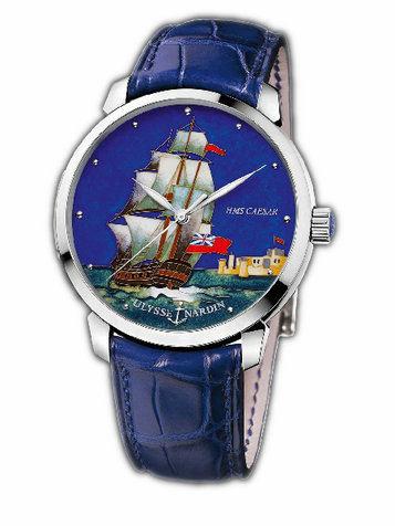 雅典珍贵独特机械腕表系列8150-111-2/CAESAR