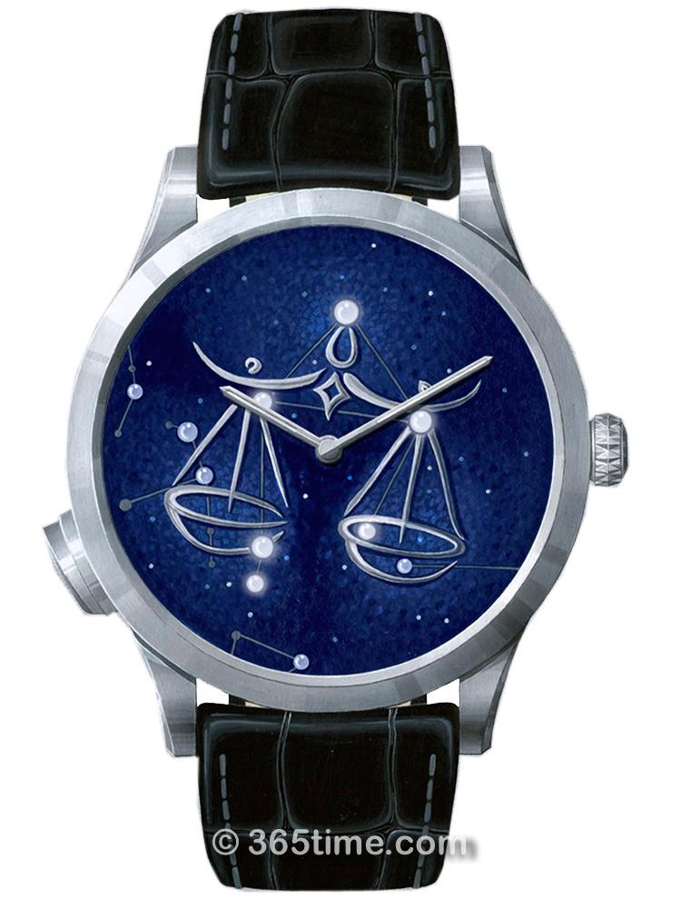 梵克雅宝诗意复杂功能系列Midnight Zodiac Lumineux腕表