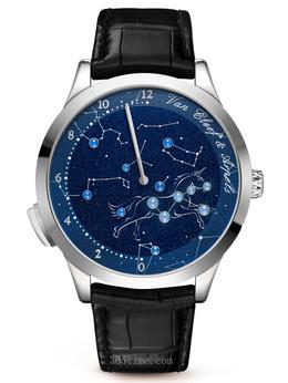 梵克雅宝诗意复杂功能系列Midnight Nuit Lumineuse腕表VCARO8PX00