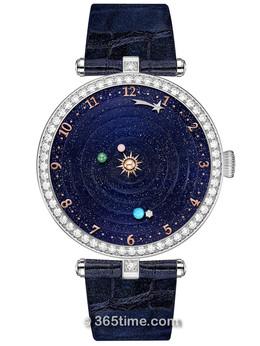 梵克雅宝诗意复杂功能系列Lady Arpels™Planétarium腕表VCARO8R000