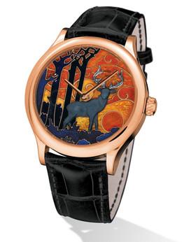 梵克雅宝非凡表盘腕表系列VCARO30C00午夜幸运鹿男士