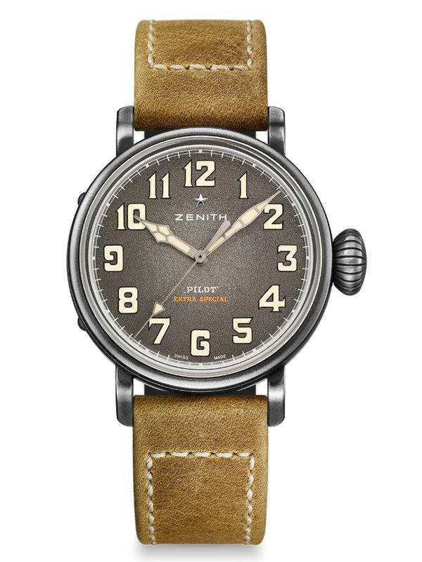 真力时飞行员系列Type 20特别款11.1940.679/91.C807腕表